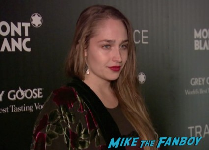 Jemima Kirke on the red carpet at trance movie premiere new york red carpet photos rosario dawson (19)