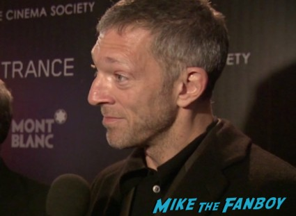 vincent cassel on the red carpet at the trance movie premiere new york red carpet photos rosario dawson