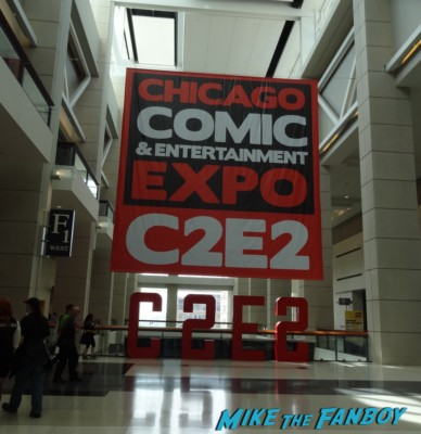 Chicago Comic and entertainment expo c2e2 banner logo rare