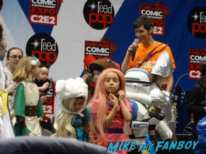kids cosplay contest Chicago Comic and entertainment expo c2e2 banner logo rare