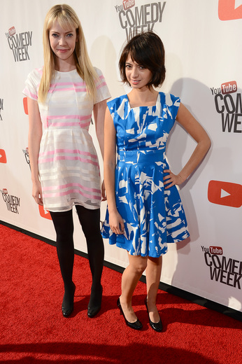 """simon rex on the red carpet at the YouTube Comedy Week """"The Big Live Comedy Show"""" Photo Gallery! Ryan Phillippe! Andy Samberg! Seth Rogan! Sarah Silverman! Jack McBrayer! Jeff Ross! Vince Vaughn! Tim & Eric! And More!"""