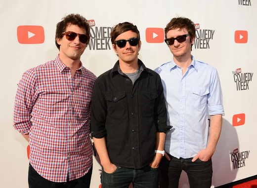 """andy samberg on the red carpet at the YouTube Comedy Week """"The Big Live Comedy Show"""" Photo Gallery! Ryan Phillippe! Andy Samberg! Seth Rogan! Sarah Silverman! Jack McBrayer! Jeff Ross! Vince Vaughn! Tim & Eric! And More!"""