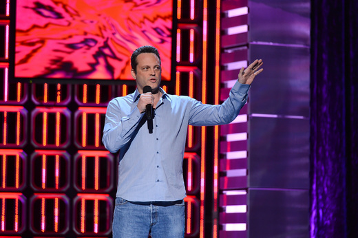 """vince vaughn on the red carpet at the YouTube Comedy Week """"The Big Live Comedy Show"""" Photo Gallery! Ryan Phillippe! Andy Samberg! Seth Rogan! Sarah Silverman! Jack McBrayer! Jeff Ross! Vince Vaughn! Tim & Eric! And More!"""
