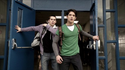 tyler posey dylan o'brien teen wolf cast hot