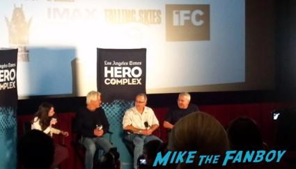 LA Time Hero Complex film festival chris carter q and a rare pilot