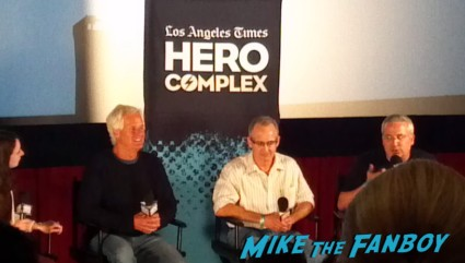 LA Time Hero Complex film festival chris carter q and a rare pilot