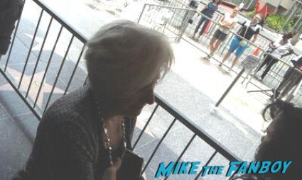 Olympia Dukakis signing autographs for fans rare promo steel magnolias star