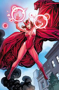 Scarlet witch rare promo hot comic book star promo