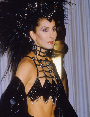 Cher academy awards outfit rare promo hot naked singer