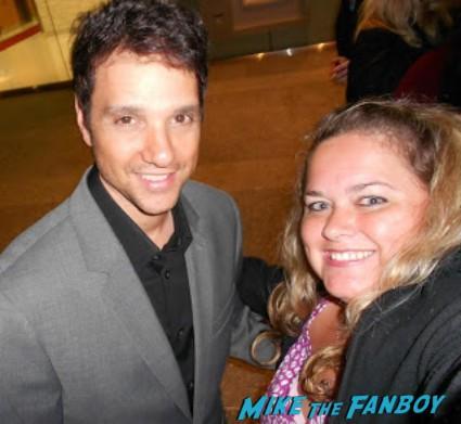 ralph maccio rare promo signing autographs hot sexy my cousin vinny star