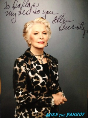 Ellen Burstyn signed autograph photo rare hot sexy singer photo shoot
