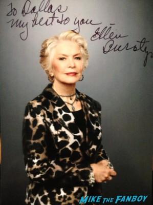 Ellen Burstyn signed autograph photo rare hot sexy singer photo shoot