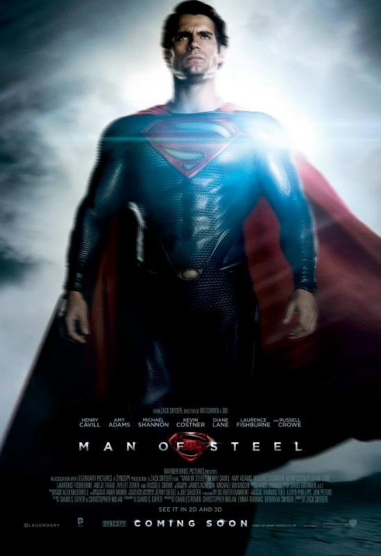 sexy henry cavill Man of steel promo one sheet movie poster hot sexy rare