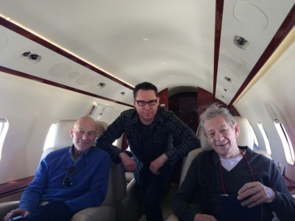Bryan Singer and Ian McKellen joined Patrick Stewart and went to the White House correspondents dinner