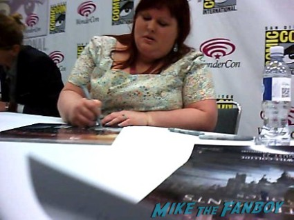Cassandra Clare Mortal Instruments autograph signing Cassandra Clare! Lily Collins! Jamie Campbell-Bower! Kevin Zegers! Autographs! Photos! More!