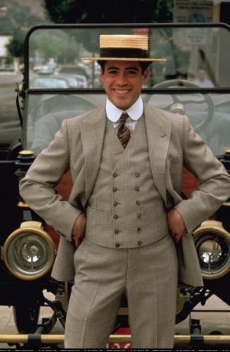 Chaplin rare press promo still photo hot rare robert downey jr.