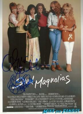 olympia dukakis signed autograph photo rare promo hot steel magnoilas press still Dukakis Star Ceremony-2