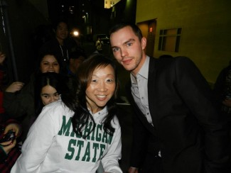 nicholas hoult signing autographs for fans rare promo hot sexy fan photo jack the giant slayer