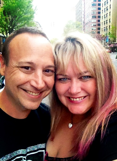 pinky and Keith Coogan engagement photo