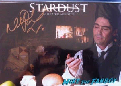 Nathaniel Parker  signing autographs for fans london's west end rare signed autograph 007 skyfall poster rare promo peter and alice london's west end judi dench ben whishaw rare poster rare promo