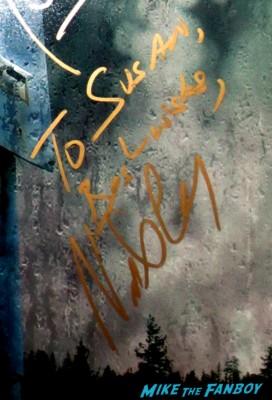 Nestor CArbonell signed autograph bates motel rare mini poster promo hot