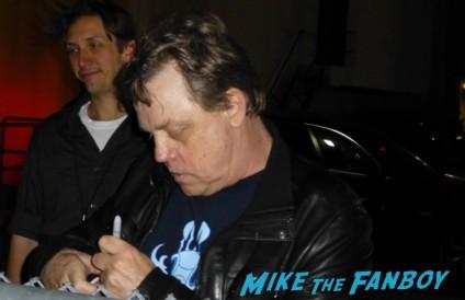 Mark Hamill signing autographs for fans capetown film festival entertaiment weekly rare promo hot luke skywalker now 2013