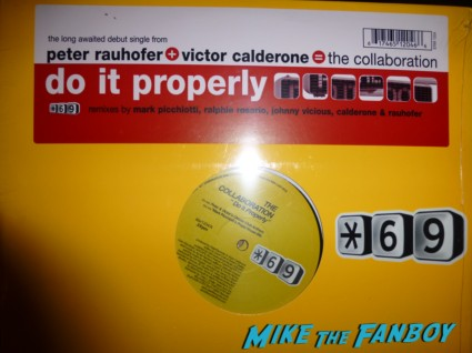 Do it properly Dan Q vinyl lp remix Peter Rauhofer April 29, 1965 – May 7, 2013 live in concert rare dj set