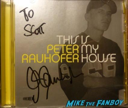 Peter Rauhofer signed autograph CD rare dj set promo poster rare hot  April 29, 1965 – May 7, 2013 live in concert rare dj set