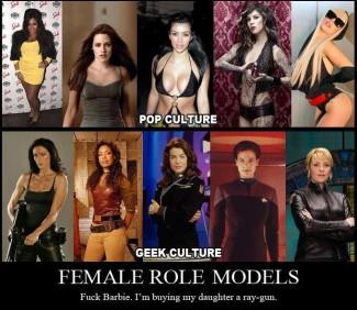Pop Culture vs Geek Culture photos rare costumed cosplay rare promo