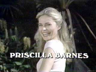 Priscilla Barnes flamingo pose three's company opening credits rare hot sexy photo