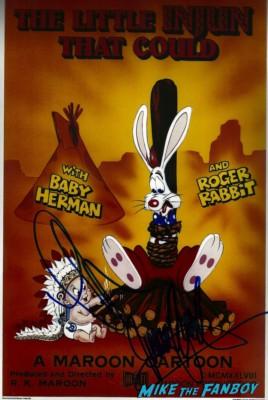 charles fleischer signed autograph rober rabbit photo movie poster rare