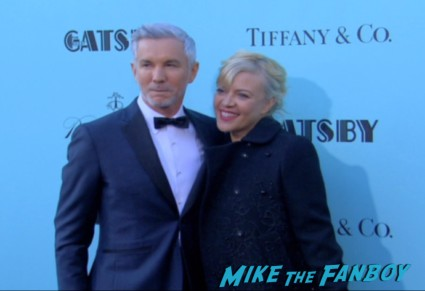 baz luhrmann arriving at the The Great Gatsby red carpet premiere leonardo dicaprio hot sexy rare