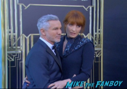 baz luhrmann florence welch arriving at the The Great Gatsby red carpet premiere leonardo dicaprio hot sexy rare