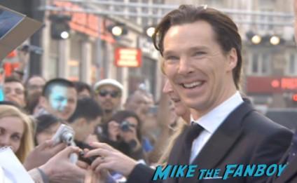 Benedict Cumberbatch signing autographs Star Trek into darkness london movie premiere chris pine zachary quinto hot sexy photos