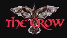 The crow movie poster brandon lee rare promo hot header bar logo title luke evans is the new crow