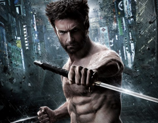 Hugh jackman hot sexy shirtless naked rare The Wolverine movie poster promo hugh jackman hot promo rare