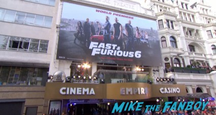 Fast And Furious 6 London UK Premiere Report & Photo Gallery! Paul Walker! Luke Evans! Vin Diesel! Michelle Rodriguez! Jordana Brewster! Ludacris! Tyrese! Autographs! Photos! And More!