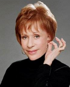 Carol Burnett Headshot rare promo red head hot