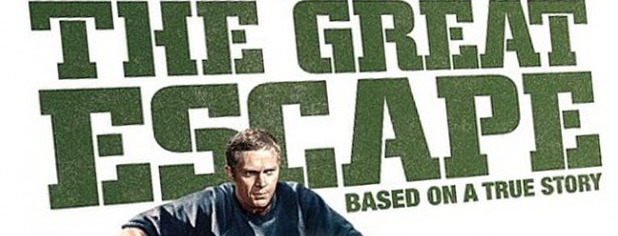 The Great Escape logo blu ray review steve mcqueen