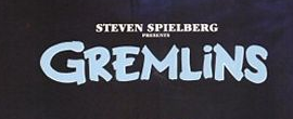 gremlins logo rare promo we're back title bar hot