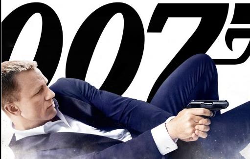 James Bond Skyfall promo movie poster rare daniel craig hot sexy promo