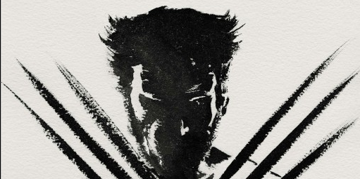 wolverine japanese paint brush design movie poster rare hot hugh jackman