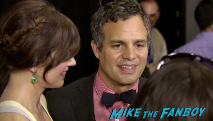 Mark Ruffalo on the red carpet at the Now You See Me Movie Premiere New York City Mark Ruffalo Michael Caine Jessie Eisenberg Morgan Freeman Woody Harrelson