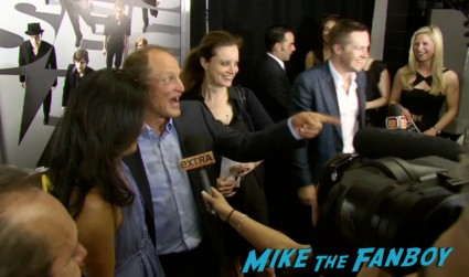 woody harrelson on the red carpet at the Now You See Me Movie Premiere New York City Mark Ruffalo Michael Caine Jessie Eisenberg Morgan Freeman Woody Harrelson