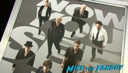 Now You See Me Movie Premiere New York City Mark Ruffalo Michael Caine Jessie Eisenberg Morgan Freeman Woody Harrelson