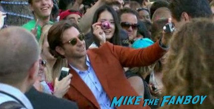The Hangover part 3 movie premiere bradley cooper signing autographs hot