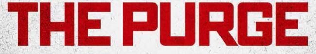 The purge logo rare promo one sheet movie poster hot rare