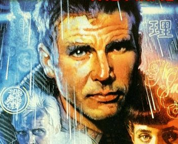 Blade runner rare movie poster harrison ford hot decker