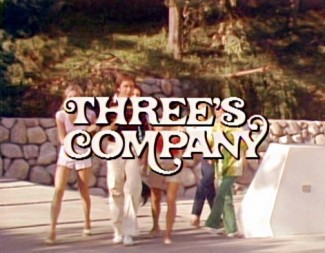 Threes-Company main title logo image rare promo