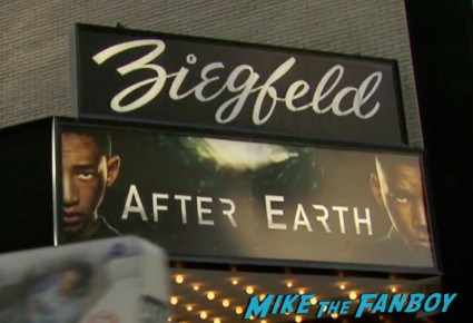 after earth movie premiere will smith red carpet signing autographs